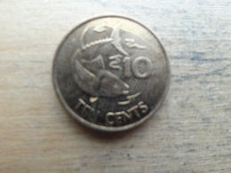 Seychelles  10  Cents  2012  Km !!! - Seychelles