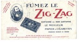 BUVARD FUMEZ LE  ZIG ZAG  PAPIER CIGARETTES - Blotters