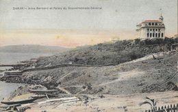 Dakar, Sénégal - Anse Bernard Et Palais Du Gouvernement Général - Edition J. Benyoumoff Et Djian, Carte Non Circulée - Sénégal