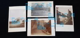 4 Photos Fcp 74 ABONDANCE Ou ST GINGOLPH Ou 63 CLERMONT Ferrand Chamalières Ou Environs ( Rue Pont Habitation Ferme ) - Bâtiments & Architecture
