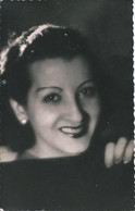 THEATER - Argentinian Actress MARUJA ROIG - Vtg CP 1940' - Teatro
