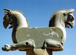 1 AK Iran * Persepolis - Altpersische Residenzstadt - Seit 1979 UNESCO Weltkulturerbe - Werbepostkarte, Siehe Scan * - Iran