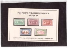E72   -  NEW ZEALAND  - PAN PACIFIC PHILATELIC  EXIBITION - Variétés Et Curiosités