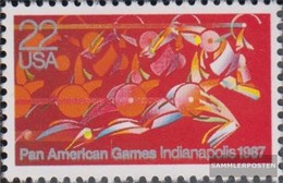 U.S. 1863 (complete Issue) Unmounted Mint / Never Hinged 1987 Pan American Games - Stati Uniti