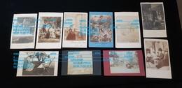 12 Photos Fcp 74 ABONDANCE Ou ST GINGOLPH Ou 63 CLERMONT Ferrand Chamalières Habitation Facteur Chambre Cabinet Portrait - Genealogy