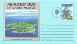 31998. Aerograma  F.D.C. NORFOLK Island 1983. Viosta Aerea Isla - Isla Norfolk