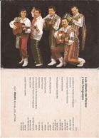 MUSIC - LUIS ALBERTO DEL PARANA Y LOA PARAGUAYOS - Vtg Publicity Card Photo 1970' - Muziek En Musicus