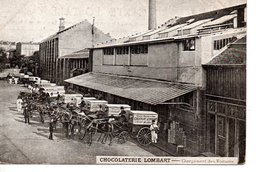 CHOCOLATERIE LOMBART - Chargement Des Voitures - France