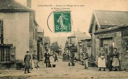 Champillon - Entrée Du Village Sur La Route De Reims à Epernay - Belle Animation - France