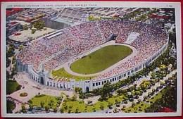 Cpa STADE OLYMPIQUE De LOS ANGELES 1935 , COLISEUM OLYMPIC STADIUM   OLD PC - Los Angeles