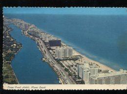 CPM Etats-Unis Ocean Front Hotels MIAMI Beach - Miami Beach