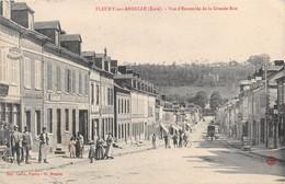 FLEURY SUR ANDELLE - Vue D'ensemble De La Grande Rue - France