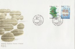 FINLAND 1991 FDC With Ship Stamp.BARGAIN.!! - Finland