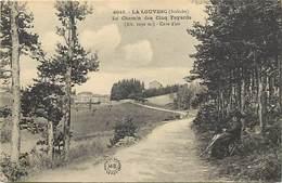 -dpts Div.-ref-AG863- Ardèche - La Louvesc - Chemin Des Cinq Fayards - Carte Bon Etat - - La Louvesc