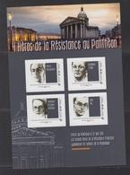 -COLLECTOR- 4 HEROS DE LA RESISTANCE AU PANTHEON - France