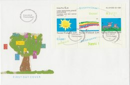 FINLAND 1991 FDC With Sheet.BARGAIN.!! - Finland