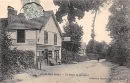 GLOS SUR RISLE - La Route De Montfort - Tabac - France