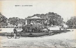 Sénégal, Dakar - Le Jardin Public, Kiosque - Collection A. Chaussende - Carte Non Circulée - Sénégal