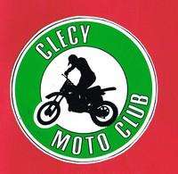1 Autocollant CLECY MOTO CLUB - Autocollants