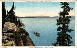 PASSING RUBICON POINT   LAKE TAHOE - Etats-Unis