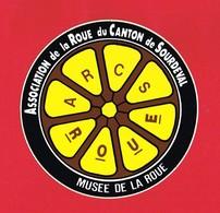 1 Autocollant ASSOCIATION DE LA ROUE DU CANTON DE SOURDEVAL - Autocollants