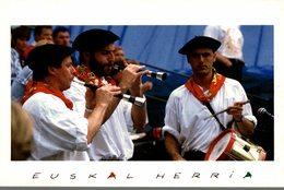 EUSKAL HERRIA  GAITEROAK  JOUEURS DE GAITA - Music