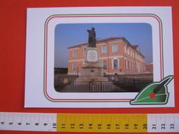 G.2 ITALIA ARBORIO VERCELLI CARD NUOVA 2016 100 ANNI GRANDE GUERRA MONUMENTO CADUTI SCUOLA - LUCIDA - Cartoline
