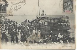 SENEGAL Arrivée De Samory à Saint - Louis CPA - Sénégal