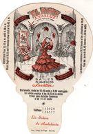 Ancien éventail Publicitaire Espagnole El Patio Andaluz - La Solera De Andalucia - Eventails