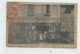 Villejuif (94) : Le Café Des Sports Avenue De Fontainebleau En 1922 (animé) PF. - Villejuif
