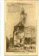 """CPA Nantes Ancien Etude Rétrospective N°88 """"Le Bouffay La Tour De L'Horloge"""" - Nantes"""
