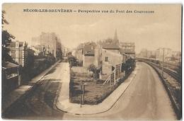 BECON-LES-BRUYERES  _  Perspective Vue Du Pont Des Couronnes  [16365] - France