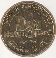 MONNAIE DE PARIS 68 HUNAWIHR Hunawihr - Alsace - NaturOparC Since 1976 - 2017 - 2017