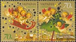 Ucraina 914-915 Coppia (completa Edizione) MNH 2007 Anno E Natale - Ukraine