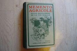 Livres-mémento Agricole Petite Encyclopédie De La Vie Rurale Larousse 1943 - - Encyclopédies