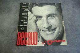 Disque De Becaud à L'Olympia - Heureusement, Y'a Les Copains - La Voix De Son Maître - FCLP 121 M - 1963/1964 - - Autres - Musique Française