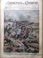 La Domenica Del Corriere 5 Agosto 1917 WW1 Bethencourt Bonacci Cesare Battisti - Guerra 1914-18