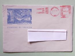 Stemmi, Affrancature Meccaniche, Ema, Meter, Comuni E Città, Faenza - Affrancature Meccaniche Rosse (EMA)