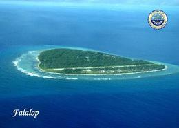 Micronesia Falalop Island Aerial View New Postcard Mikronesien AK - Micronesia