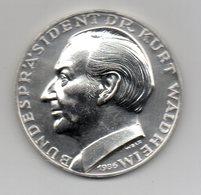 Germania - 1986 - Medaglia Presidente Kurt Waldheim - Argento 900 - Vedi Descrizione - (MW2089) - Altri