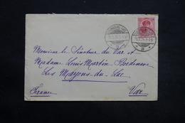 LUXEMBOURG - Enveloppe Pour La France En 1924, Affranchissement Plaisant - L 25406 - Luxembourg