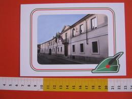 G.2 ITALIA ARBORIO VERCELLI CARD NUOVA 2016 100 ANNI GRANDE GUERRA ALPINI MUNICIPIO COMUNE - LUCIDA - Bâtiments & Architecture