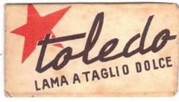 LAMETTA DA BARBA - TOLEDO - LAMA TAGLIO DOLCE   -   ANNO ? - - Lamette Da Barba