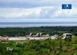 Micronesia Yap Island Airport New Postcard Mikronesien AK - Micronesië