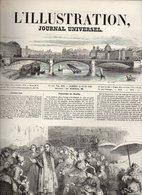 L'illustration Journal Universel N°330 Le Cercle Constitutionnel - Le Choléra  - Rébus - Beaux-Arts Exposition 1849 - Journaux - Quotidiens