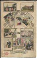 ECAUSSINNES - Souvenir Du Goûter Matrimonial D'Ecaussinnes-Lalaing - Carte Litho 1913 Phototypie Marcovici - Ecaussinnes