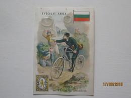 LE/AJ - Chromo Chocolat  SADLA : La Poste En Bulgarie -1890-1900 - Cromos