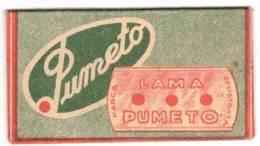 LAMETTA DA BARBA - PUMETO  -   ANNO ?? - - Lamette Da Barba