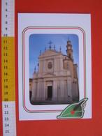 G.2 ITALIA ARBORIO VERCELLI CARD NUOVA 2016 100 ANNI GRANDE GUERRA ALPINI CHIESA SAN MARTINO - LUCIDA - Eglises Et Cathédrales