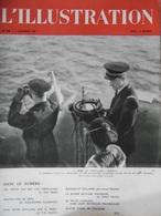 L'Illustration N° 5048 Du 2 Décembre 1939 La Lutte Contre Les Sous-marins; A Bord Du Torpilleur Sirocco - Journaux - Quotidiens